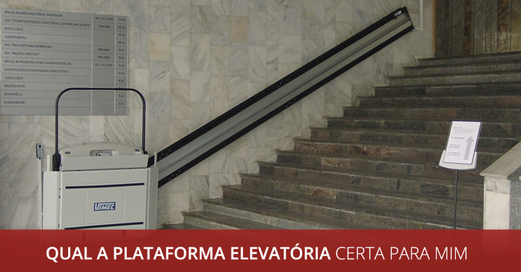 plataforma de escada